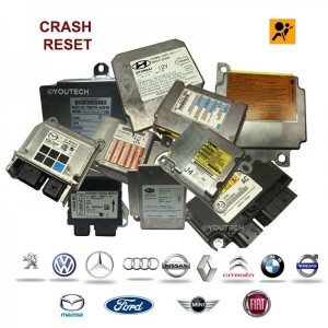 Réparation calculateur airbag 3C0909605L 3C8907801E 4F0959655B 5C0959655B 5K0909655D