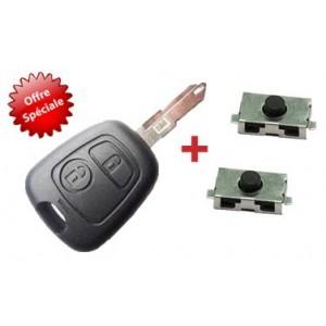 Kit de réparation télécommande Peugeot