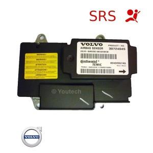 réparation calculateur airbag volvo 30724045 30724427