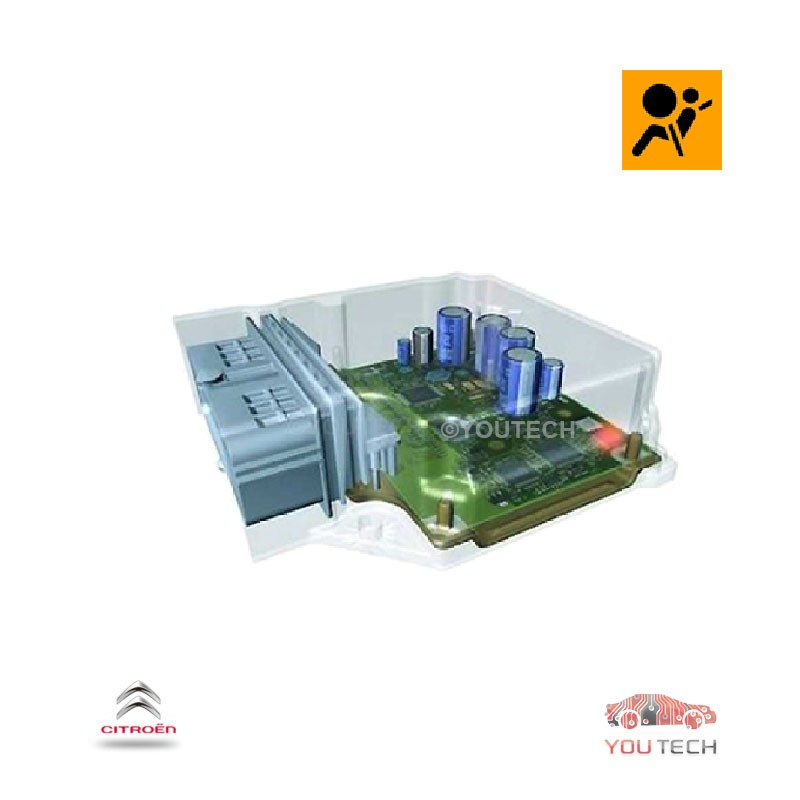 Réparation calculateur airbag  9641968380 1728-A5 C5
