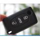 Housse coque silicone clé peugeot 206 307 408
