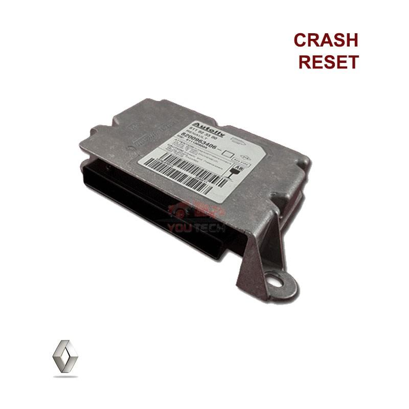 Réparation calculateur airbag 611 02 33 00 611023300 Clio 3