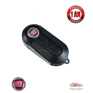Réparation clé Fiat 500 500L 500X