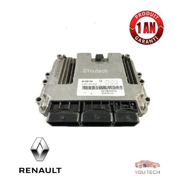 Réparation calculateur moteur Megane Scenic 1.9 DCI