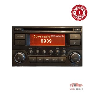 Réparation Autoradio Nissan JUKE