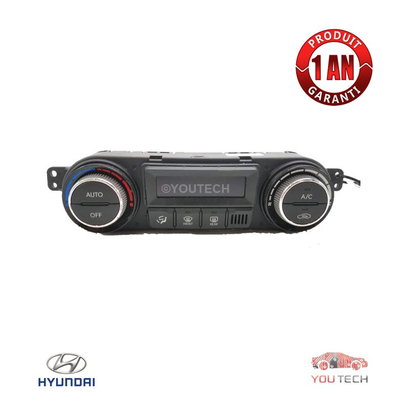 Réparation commande climatisation chauffage Hyundai i20