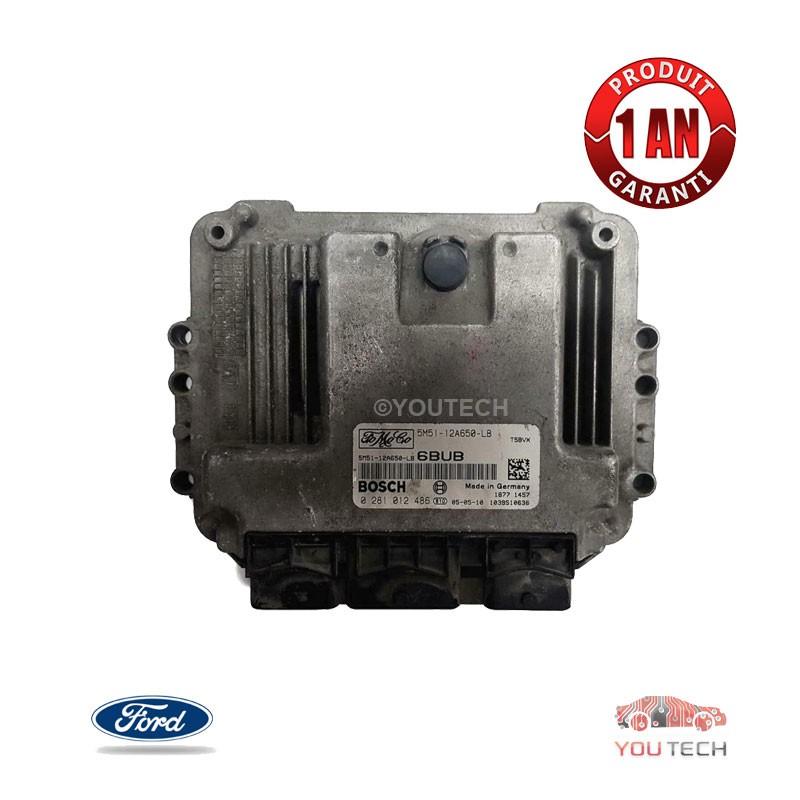 Réparation calculateur moteur Ford Fusion 1.6 HDI