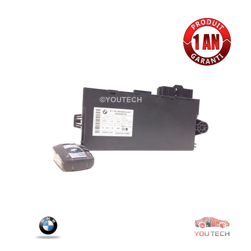 Réparation boitier CAS2 BMW