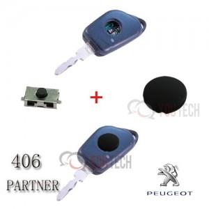 Kit pour réparation plip clé Peugeot 406