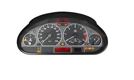 Schéma pour test compteur BMW E46