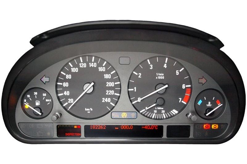 Schéma pour test compteur  BMW E38 E39 2 connecteur