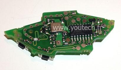 Circuit imprimé télécommande Citroën