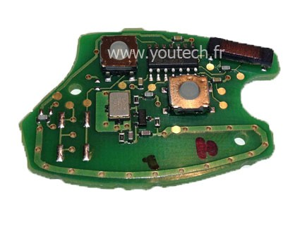 Circuit imprimé télécommande Renault