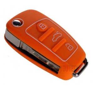 Housse coque silicone telecommande Audi