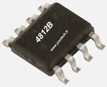 Circuit intégré 4812B