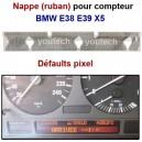 Nappe LCD compteur E38 E39 X5