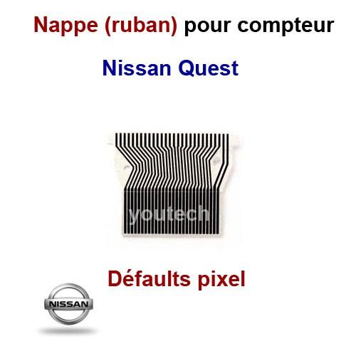 Nappe LCD compteur Nissan Quest