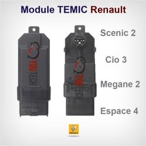 Probléme vitre électrique Renault Scenic 2