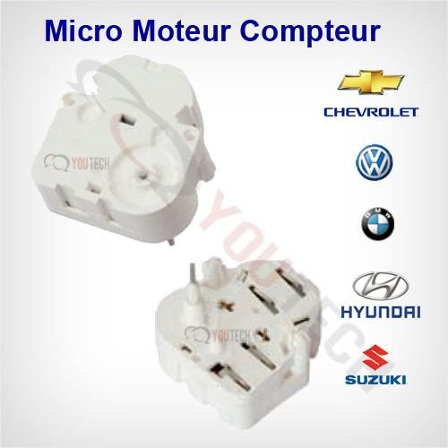 Micro moteur compteur Audi Mercedes Skoda Seat