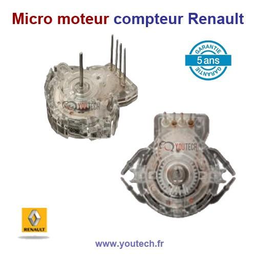 Micro moteur compteur Clio