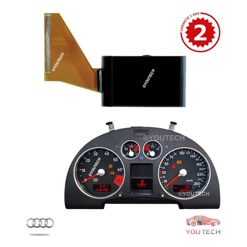 Ecran Lcd compteur Audi A3 A4 A6 TT